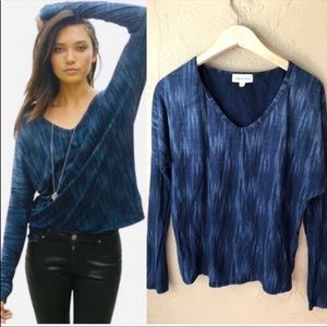Anthropologie Cloth & Stone Long Sleeve Knit Top S